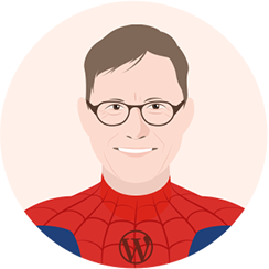 Andy Crestodina blogging superhero