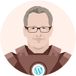 Blogging superhero Brian Clark