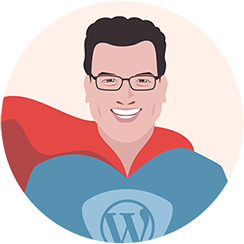 Joost de Valk blogging superhero