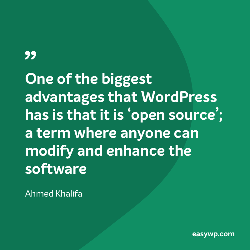 Ahmed Khalifa on WordPress