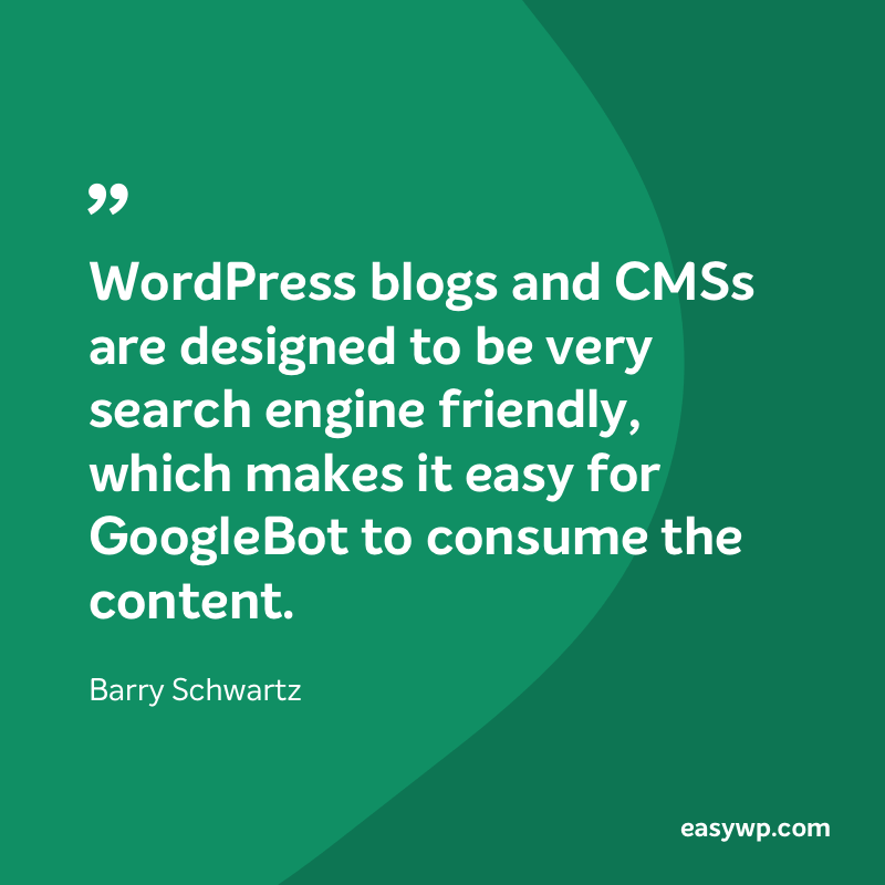 Barry Schwartz on WordPress