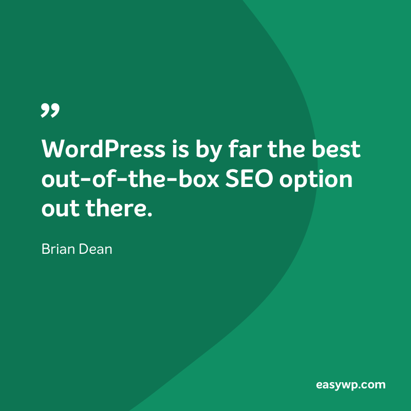 Brian Dean on WordPress